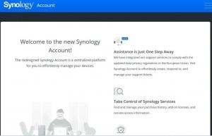 SynologyAccountサインイン完了