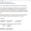 Windowsのhostsファイル設定例