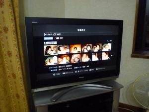 メディアサーバーをテレビで視聴する