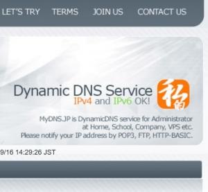 MyDNSサイト