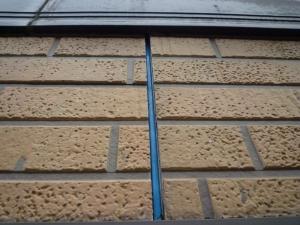 古いコーキング材撤去後|雨漏り対策~外壁の修理