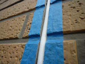 バックアップ材が大きすぎ|雨漏り対策~外壁の修理