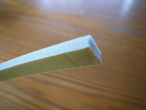 平型バックアップ材断面|雨漏り対策~外壁の修理