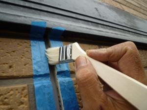 プライマー塗布|雨漏り対策~外壁の修理