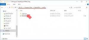 設定ファイルを移動|VPN Serverを使う