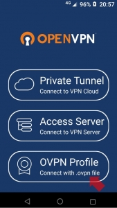 [OVPN Prifile]をタップ(Android)|VPN Serverを使う