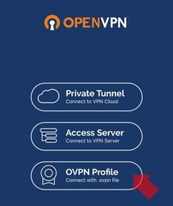 OpenVPN起動(iOS)|VPN Serverを使う