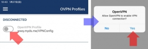 VPN接続の開始(iOS)|VPN Serverを使う