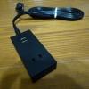USBポート付安全タップHS-TU225M-K