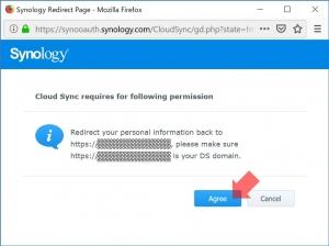 Synologyに確認|Cloud Syncを使う(1)~DiskStation DS218j