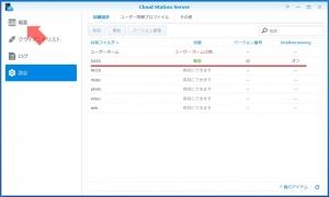 同期フォルダ設定完了|Cloud Stationでクラウド構築(1)~DiskStation DS218j