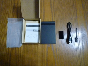 内容物|名もなきUSB3ハードディスクケースを買った件