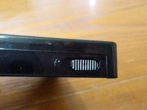 ケースロックスイッチ|名もなきUSB3ハードディスクケースを買った件