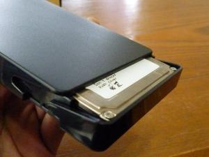 HDD装着|名もなきUSB3ハードディスクケースを買った件