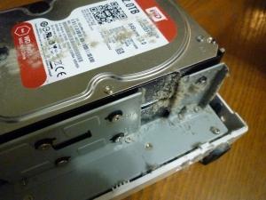 内部その1|たまにはDS218jを掃除しましょう~DiskStation DS218j
