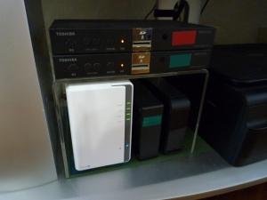 再設置|たまにはDS218jを掃除しましょう~DiskStation DS218j
