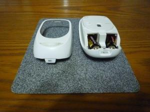 電池日本は重い|Logicool M557マウスとダイソー充電池ReVOLTES