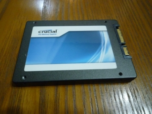 内蔵するSSD|2.5インチポータブルハードディスク・SSDケースLGB-PBSU3を買った件