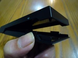 ケースを開ける|2.5インチポータブルハードディスク・SSDケースLGB-PBSU3を買った件